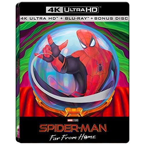 Spider-Man: Far From Home  - Mysterio Limited Steelbook Edition (4K Ultra HD + Blu-Ray + Bonus Disc Blu-Ray) (Limited Edition) (3 Blu Ray)