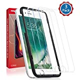 [3 Pack] iPhone 8,7,6s,6 Glass Screen Protector, Roopose [3D Curved Edges] Tempered Glass for iPhone 8,7,6s,6(4.7 inch),Easy Install, Case Friendly, 9H Hardness