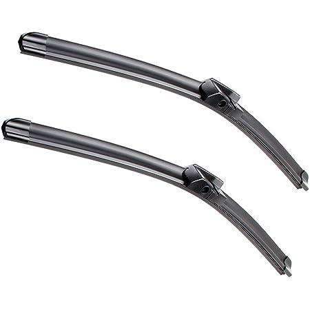 600 Black//Grey x2 Set of 2 Valeo Wiper Blade Silencio FB OE RHD VF842 Set 577842