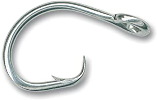 50 size 9//0 39965 Stainless Steel Circle Hooks  NEW