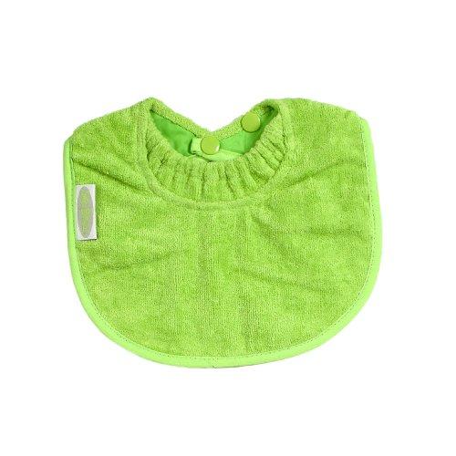 Silly Billyz Bavoir - Mini Coton avec Col-Anti Fuite - Citron Vert - 0- 24 mois
