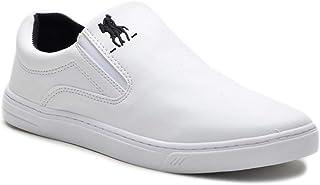 Tênis Slip On Casual Polo Plus Masculino Solado Tr Almofadado