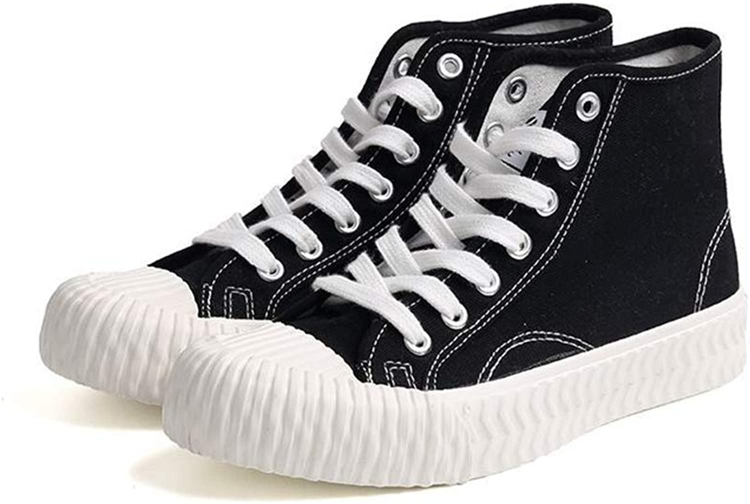 Meimeioo Women's High Top Classic Casual Canvas Fashion shoes Trainers Sneakers
