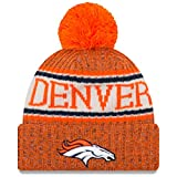 A NEW ERA Era Knitted Onfield Sport Beanie ~ Denver Broncos