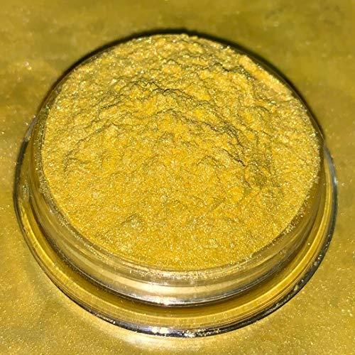 25g Dipoxy Bright-Yellow-Pearl-Gelb01 Pigment Farbmittel für Epoxidharz, Polyesterharz, Polyurethan Systeme, Beton, Lacke, Kunstharz Schmuck