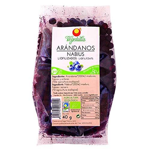 Vegetalia, Arándano deshidratada - 40 gr.