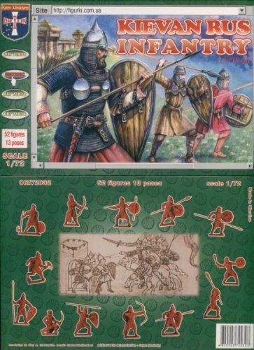 ORION ori72032 – kievan Rus Infantry, 11–14 Century, Plastique de modèle