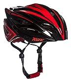 AWE® aweblade ™ in-mould helm volwassenen mannen wielrennen 58–61cm Zwart Rood