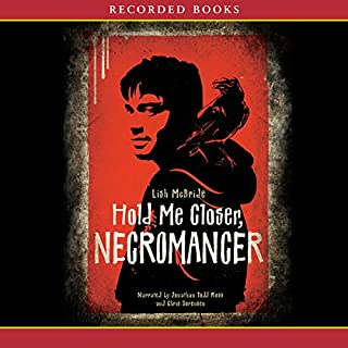 Hold Me Closer Necromancer audiobook cover art