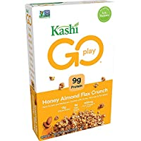 4-Pack of Kashi Go Breakfast Cereal (14oz boxes, Honey Almond Flax Crunch)