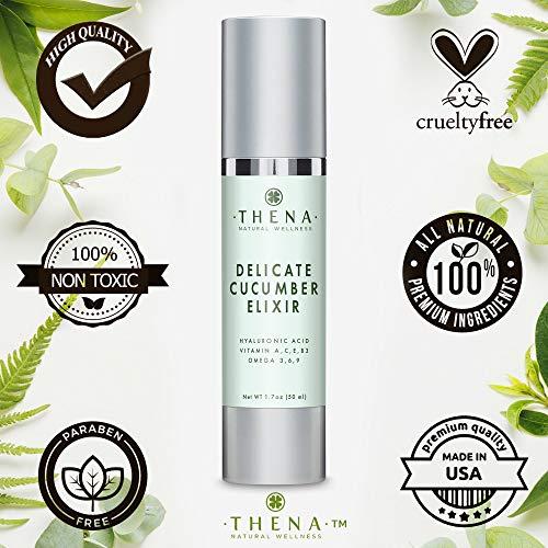 51hA60Bx0dL - Cucumber Elixir Anti aging Face Cream With Hyaluronic Acid, Natural & Organic Facial Moisturizer Face Lotion Anti aging Face Moisturizer For Women & Men Best Face & Skin Care