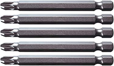 75mm KS Tools 911.7728 Pack Punta Classic para Tornillos en Cruz PZ2 tama/ño: 1//4 Set de 5 Piezas