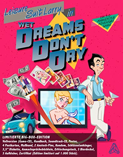 Leisure Suit Larry: Wet Dreams Don't Dry - Limitierte Big-Box-Edition - PC/Mac