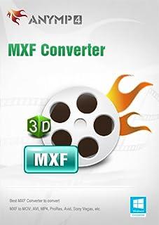 AnyMP4 MXF Converter Lifetime License - Convert MXF to MP4/AVI/MKV/WMV/FLV/MOV, etc. and change 2D to 3D video [Download]