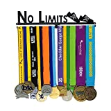"""連合軍のメダルしっかりと強い仕上がりに強いです。シティスポーツメダルショーキットメダルホルダービブハンガーラン ランナーズレースメダルハンガー  ランナーガール""""無制限""""スポーツマラソンメダルショーハンガーメダルハンガーディスプレイスタンド<br>製品"""