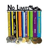 JIN City Sports Medal Shows Kit Completo Medalla Holder Bib Run | Matchner Match Medal Hanger | Runner Girl Sports Ilimitado Medalla de maratón Rendimiento Medalla Colgante Stand Stand
