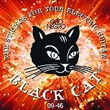 Juego de cuerdas para guitarra eléctrica Gato Negro- Black Cat 09-46