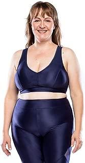 Top Fitness Plus Size Plus - Azul Marinho