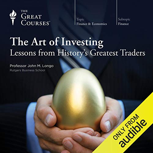 Couverture de The Art of Investing: Lessons from History's Greatest Traders