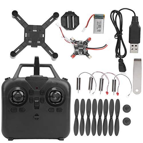 zhuolong Assemblaggio Fai-da-Te Kit Drone telecomandato Mini elicotteri Giocattolo quadricottero, droni quadricottero 2.4G con Trasmissione a Tre velocità, Rotazione a 360 Gradi