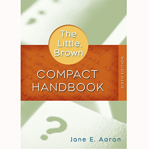 VangoNotes for The Little, Brown Compact Handbook, 6/e audiobook cover art