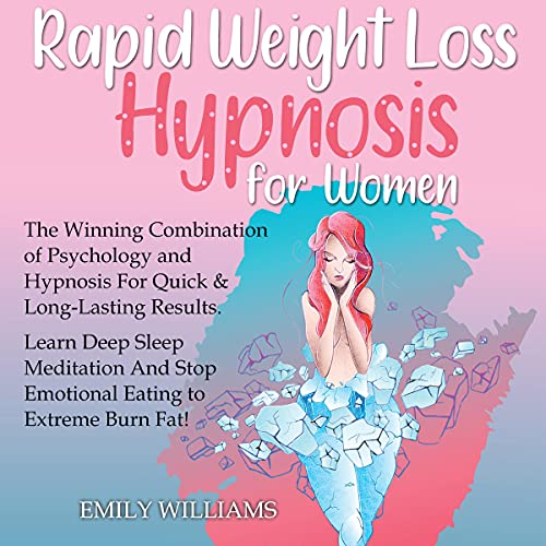 Rapid Weight Loss Hypnosis for Woman cover art