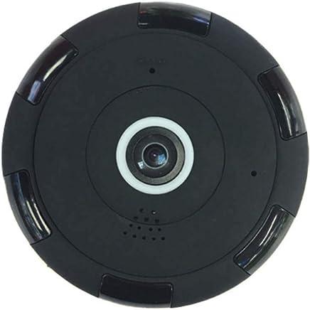 STRIDCJX Fotocamera CCTV grandangolare panoramica grandangolare a 360 Gradi HD, Telecamera IP Fisheye Wireless IPC Intelligente, Telecamera 1080P HD Home Security WiFi,32G - Trova i prezzi più bassi
