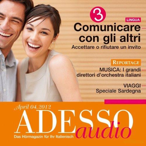 ADESSO Audio - Comunicare con gli altri. 4/2012 audiobook cover art