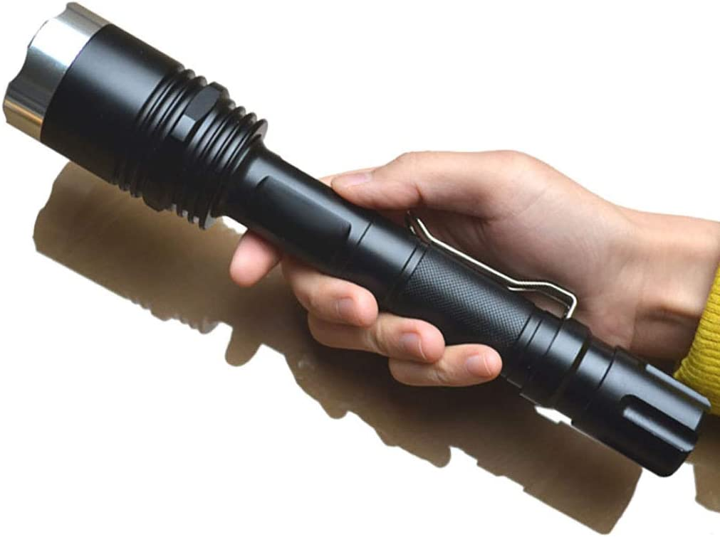 Gifts Rechargeable Tactical Flashlight LED Torch and Popular product Short Dual Long