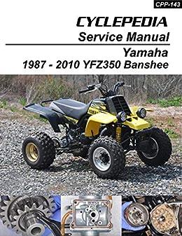 Amazon.com: Yamaha YFZ350 Banshee Repair Manual eBook: Cyclepedia Press  LLC: Kindle StoreAmazon.com