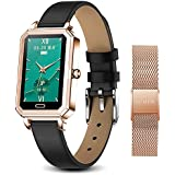 2021 Smart Watches for Women, Fitness Tracker with Blood Pressure Heart Rate Blood Oxygen Monitor, IP68 Waterproof Activity Tracker with Pedometer, Smartwatch for Android Phones