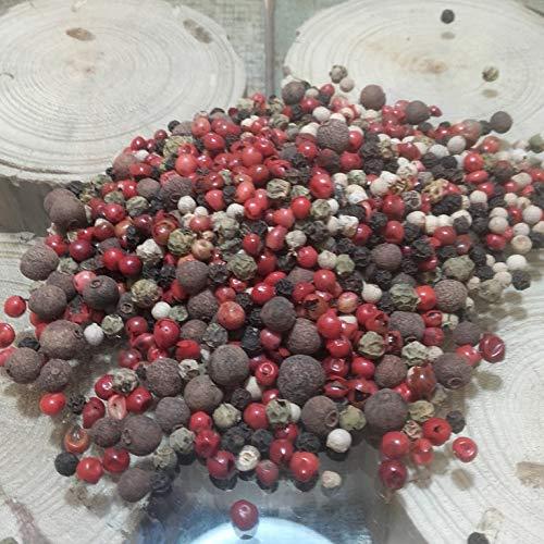 Pimienta 5 Bayas 1000 grs - Pimienta Natural 100 % 1Kg