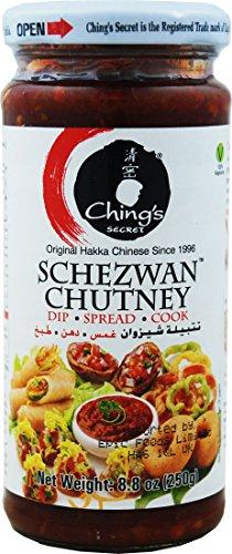 Ching's Secret Schezwan Chutney - Chutney Sie können eintauchen, Verbreiten oder Kochen mit - 8.8Oz. 250g.