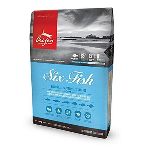 Orijen 6 Fish Comida para Gatos - 1800 gr