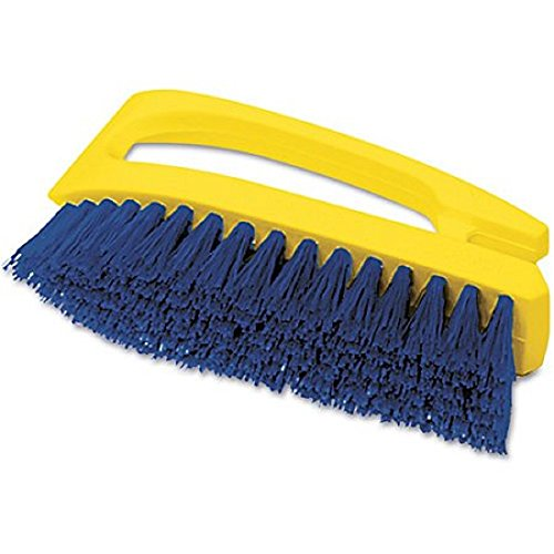 Rubbermaid Commercial Products - Rubbermaid Commercial - Iron-Shaped Handle Scrub Brush, 6