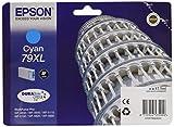 Epson 79 Serie Torre, Cartuccia Originale Getto d'Inchiostro DURABrite Ultra, Formato XL, Ciano, con Amazon Dash Replenishment Ready