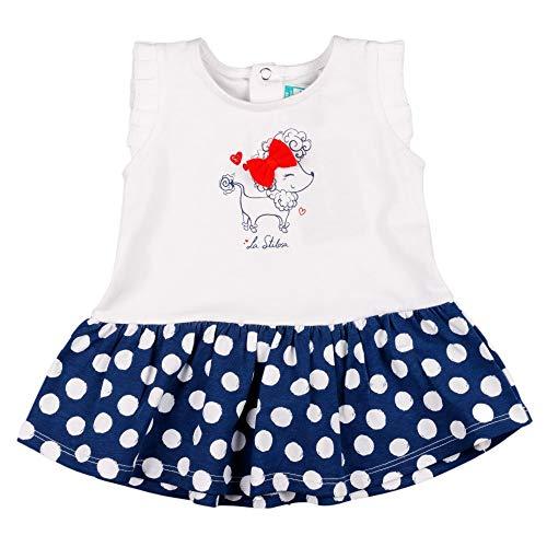 Charanga VERMOSO Vestido, Blanco, 3-6Meses para Bebés