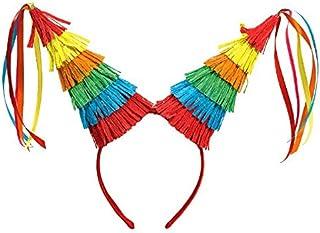 Cinco De Mayo Colorful Fiesta Pinata Headband   Party Accessories