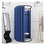 LJIANW Vestuario Portátil, Probador, Tienda De Ropa Vestuario, Protección De La Privacidad Sombreado Temporal Vestuario XA Compras Oficina Central (Color : Blue, Size : 80x85x200cm)