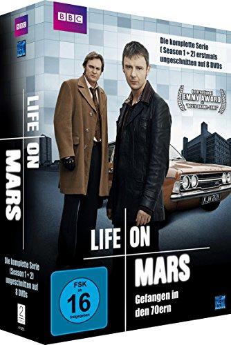 Life on Mars - Season 1 & 2 - Langfassung (8 Disc Set) [Alemania] [DVD]