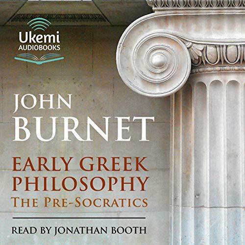 Early Greek Philosophy Titelbild