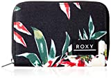 Roxy Dear Heart, Monederos. para Mujer, Color Gris Antracita Wonder Garden S, Medium