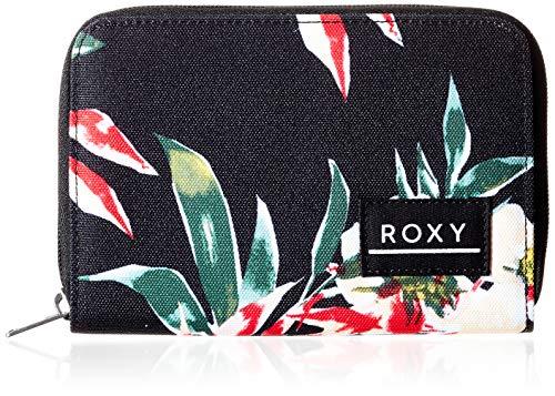 Roxy Dear Heart, Wallets. Femme, Anthracite Wonder Garden S, Medium