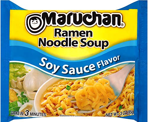Maruchan Ramen Soy Sauce Flavor 3 ounce (24pk)