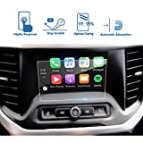 LFOTPP Car Navigation Screen Protector Compatible for 2017-2019 GMC Acadia 7-Inch IntelliLink, Clear Tempered Glass Infotainment Display in-Dash Center Touch Screen Protector 7-Inch