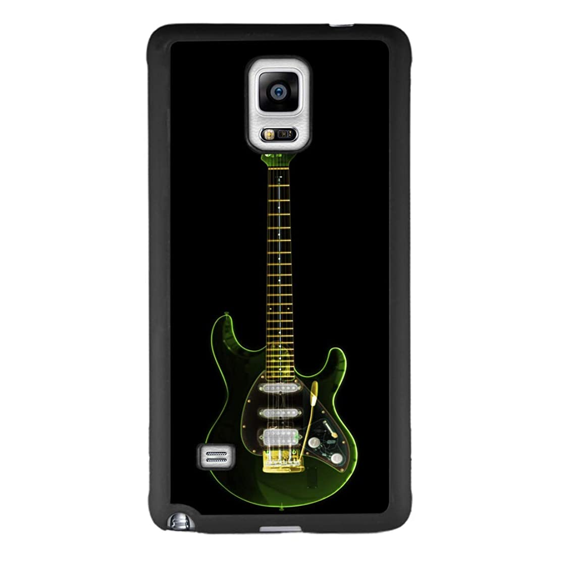 Samsung case for Samsung Galaxy Note 4 case Guitar Slim Soft and Hard Tire Shockproof Protective Phone Cover Case Slim Hybrid Shockproof Protective Case Anti-Scratch Cushion Bumper with Reinforced Cor