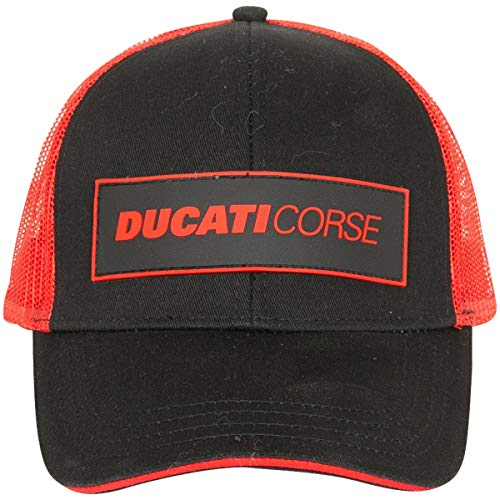 GP RACING Casquette Ducati Corse Trucker Snapback Official Racing Apparel