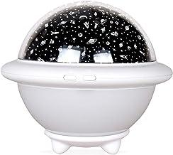 UFO Night Light for Kids, Starry Projector, Space Universe Night Light, Galaxy Projector, Stellar Lamp for Children, Ocean...