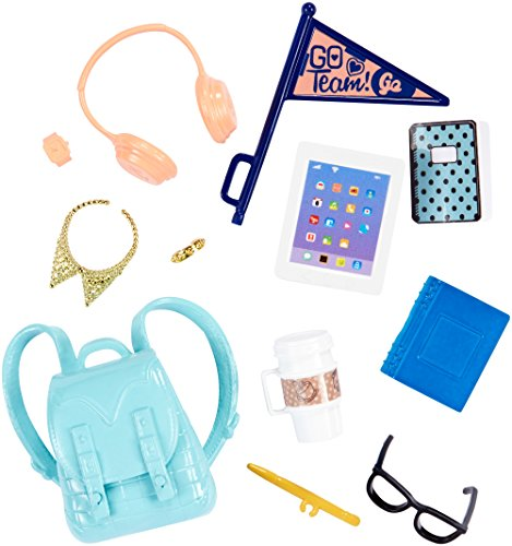 Barbie Mattel Fashion Doll Accessory Pack - School Spirit (FKR92)