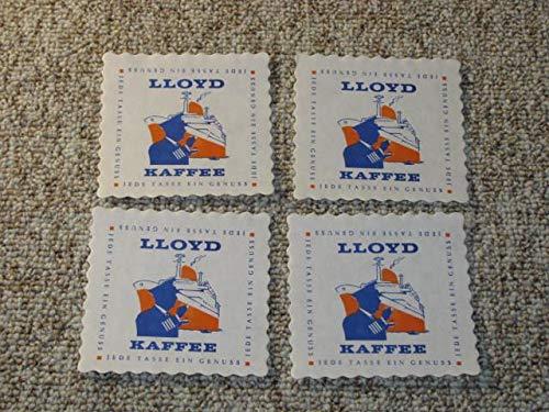 4 x Untersetzer Lloyd Kaffee